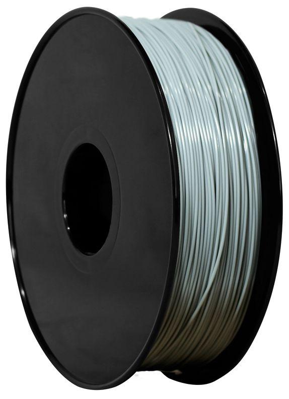 Filamento FLEXÍVEL Cinza 1,75mm - 800 gr