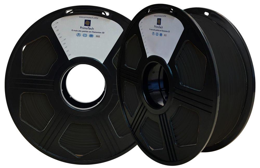Filamento PLA Preto 1,75mm - 1kg
