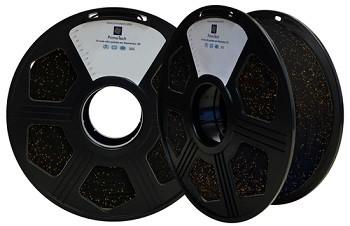 Filamento PLA Preto Twinkling 1,75mm - 1kg