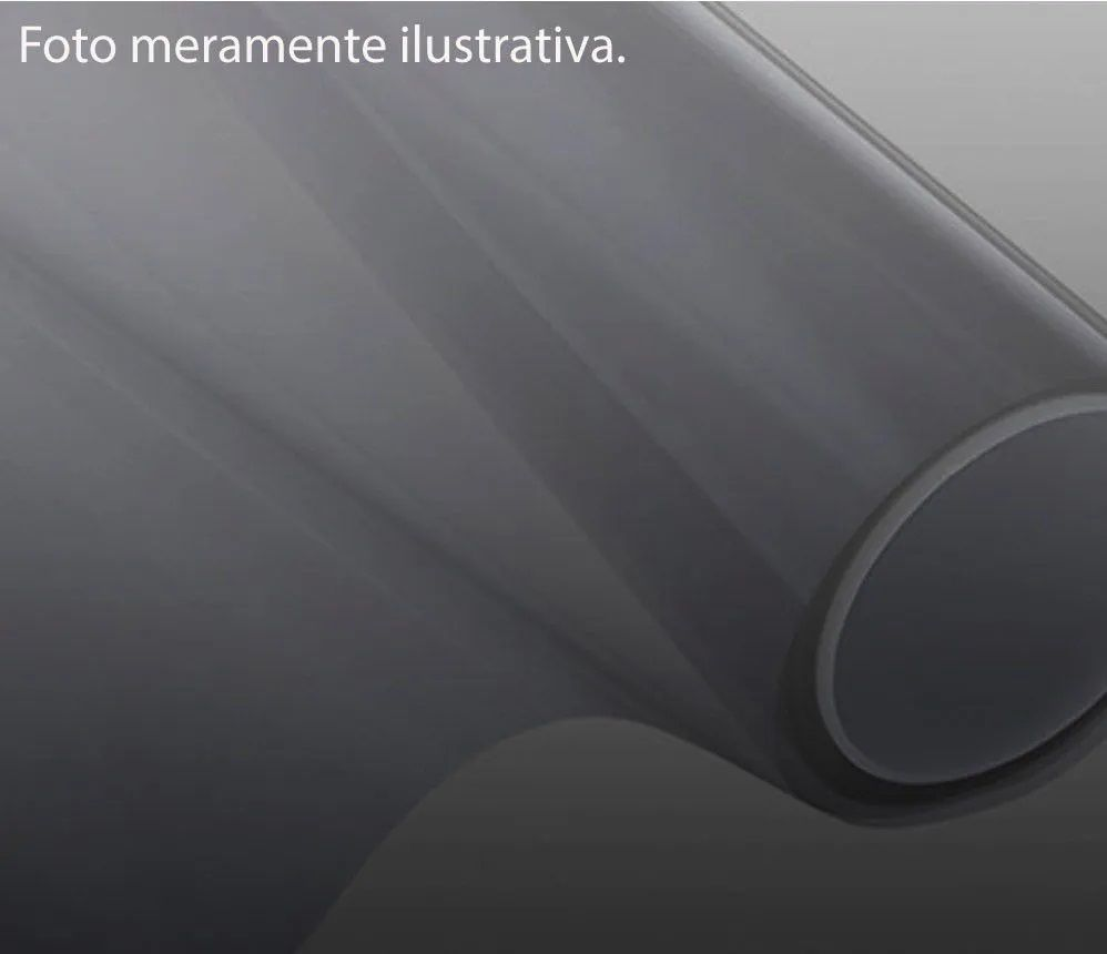 PELÍCULA TINTADA DE CONTROLE SOLAR PRETO (BLACK - GRAFITE) 20 - EC20CBKR - EC20EBKR - EC20DBKR  -(152x15m)