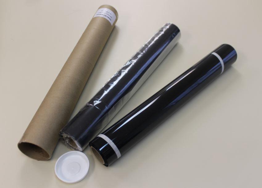 Película -SM Tintada de Controle Solar (0,50 X 30m) TLV 5, 20 e 35. Cores disponíveis: Preto, Verde Oliva e Verde Natural .