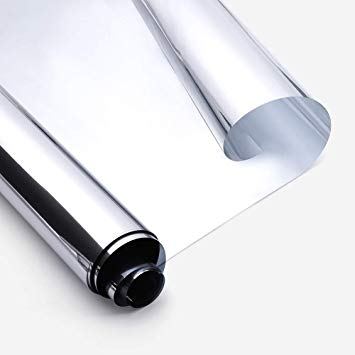 STR10BGR1- Película Solar Prata Refletiva TVL 10% Standard