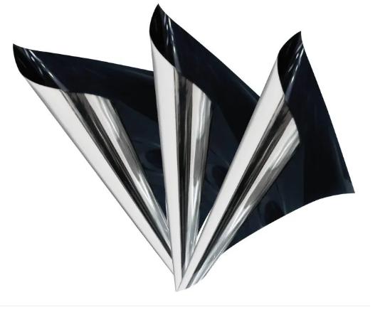 STR15DSIR Película de Arquitetura Prata Refletiva