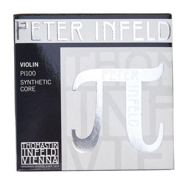 Encordoamento Cordas Violino 4/4 - Thomastik Peter Infeld - Mi Platinum