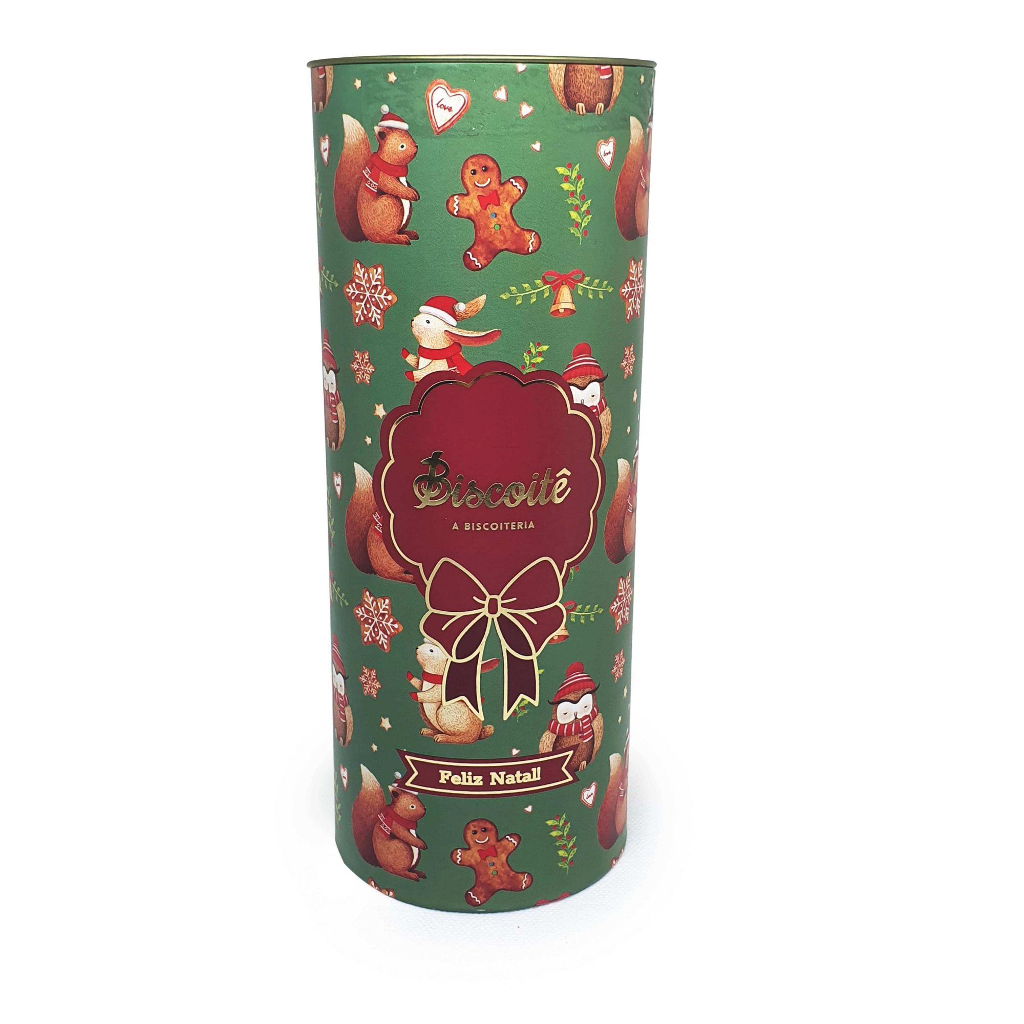 Biscoito de Chocolate  - Lata de Natal - 200g