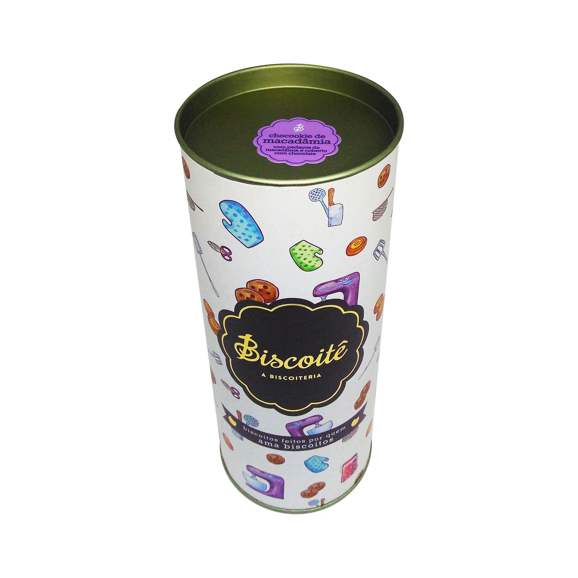 Bombom de Cookie de Macadâmia - LATA - 140G