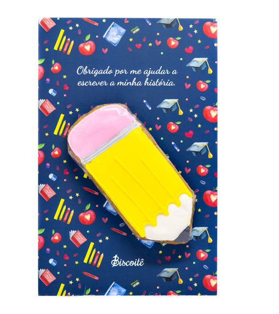 Cookie Cards - Especial de Dia do Professor - 15g