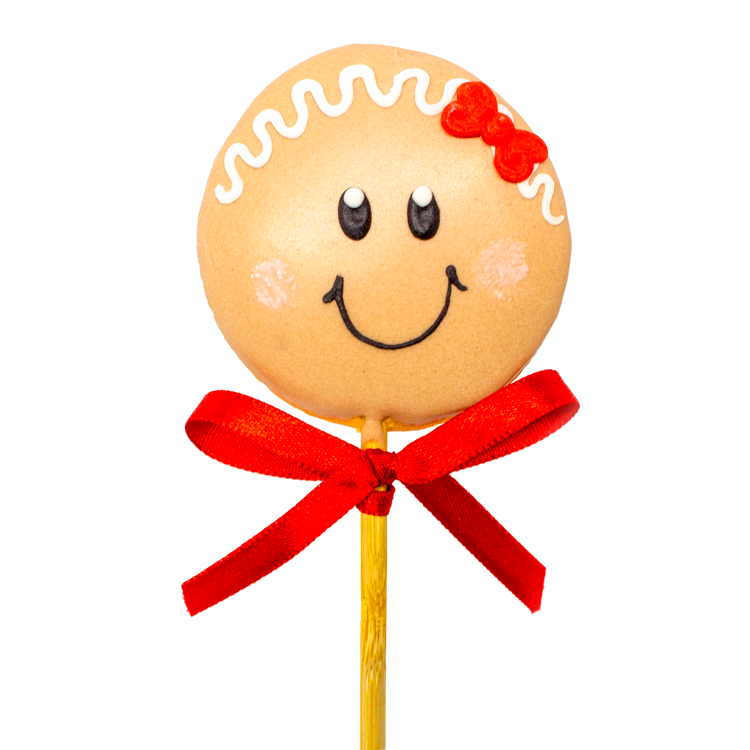 Pirulito Ginger Menina - 15g