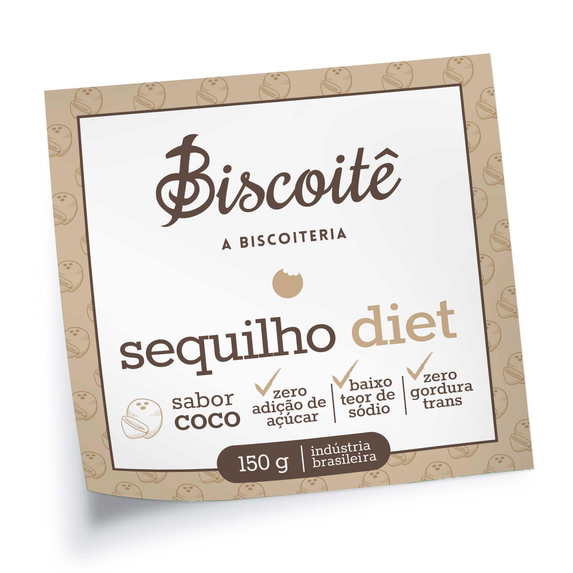 Sequilho Diet de Coco - 150g