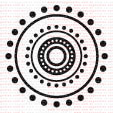 023 - Mandala só de pontinhos  - SCRAP GOODIES