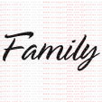 046 - Family  - SCRAP GOODIES