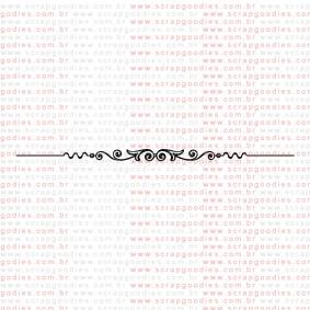 125 - Barra clássica  - SCRAP GOODIES