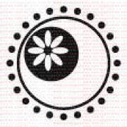 024 - Mandala com florzinha lateral