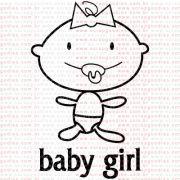 275 - Baby Girl - SCRAP GOODIES