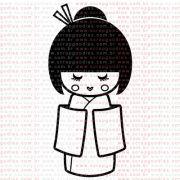 295 - Japonesa by Lu Ilarri - kimono