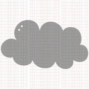 CA042 - Mini álbum nuvem - SCRAP GOODIES