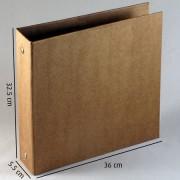 Álbum Fichário Grande Kraft - para plástico 30.5x30.5cm
