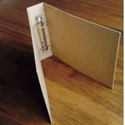Álbum Fichário Médio kraft (17 x 21 cm) - SCRAP GOODIES
