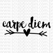 616 - Carpe diem com flechinha