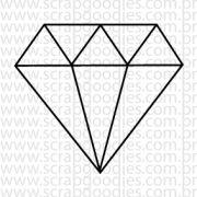 619 - Diamante (grande) - SCRAP GOODIES
