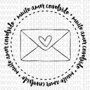 627 - Muito amor envolvido - envelopinho - SCRAP GOODIES