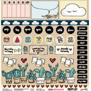 PP090 - Cloud & Heart - SCRAP GOODIES
