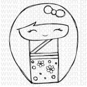 665 - kokeshi Yoko - SCRAP GOODIES