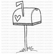 714 - Mailbox  - SCRAP GOODIES