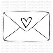 718 - Envelopinho coração - SCRAP GOODIES