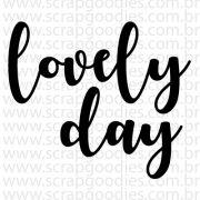 748 - Lovely Day