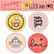 Buttons Click & Love modelo 1