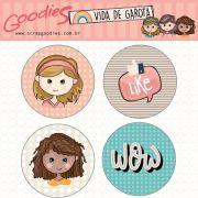 buttons - Vida de Garota 1