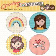 buttons Vida de Garota modelo 2