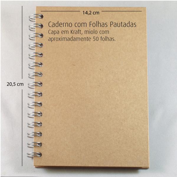 Caderno Pautado  - SCRAP GOODIES