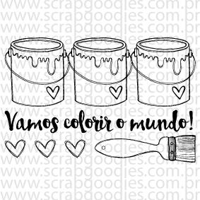 632 - Vamos colorir o mundo!  - SCRAP GOODIES