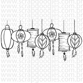 662 - lanternas japonesas  - SCRAP GOODIES