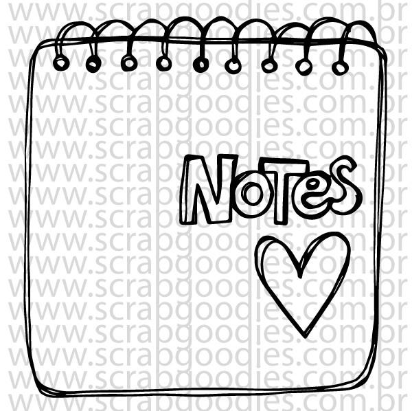 713 - Bloquinho Notes  - SCRAP GOODIES