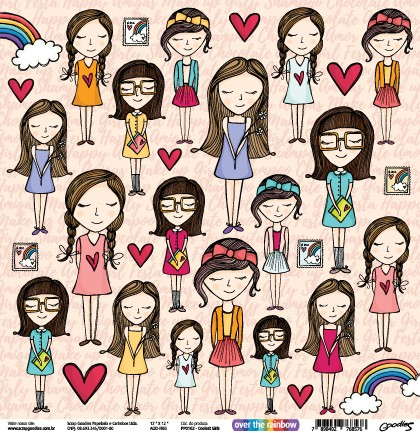 PP102 - Coolest Girls  - SCRAP GOODIES