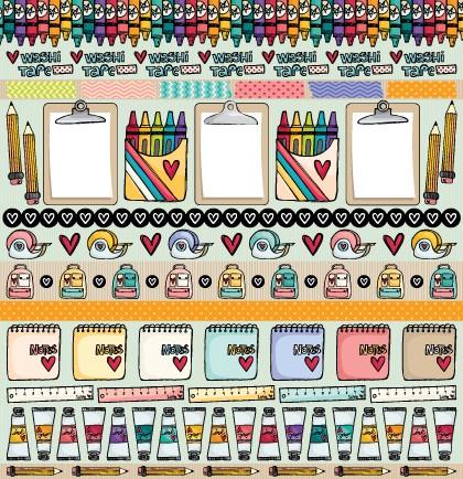 PP105 - Colours  - SCRAP GOODIES