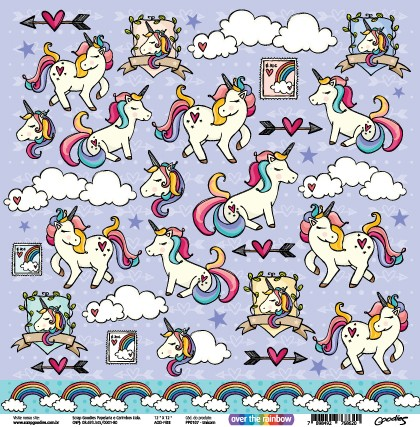 PP107 - Unicorn  - SCRAP GOODIES