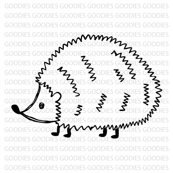 729 - Porcopine  - SCRAP GOODIES