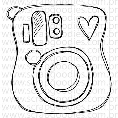 749 - Instax mini25  - SCRAP GOODIES