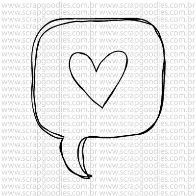 772 - Balãozinho Stories  - SCRAP GOODIES