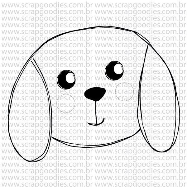 784 - Cachorrinho  - SCRAP GOODIES