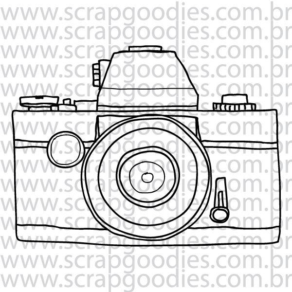 811 - Câmera Fotográfica Viagem  - SCRAP GOODIES