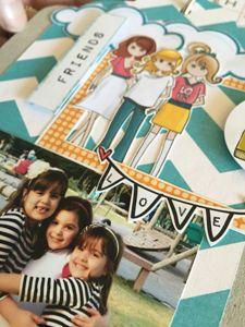 kit mini álbum Girl  - SCRAP GOODIES