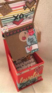 kit mini-álbum Lovely na caixinha  - SCRAP GOODIES
