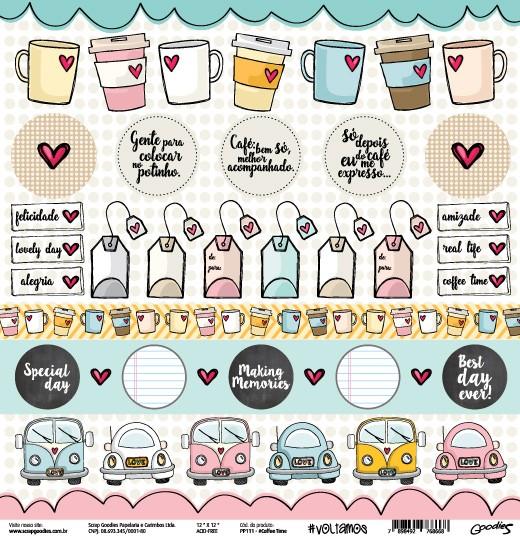 PP111 - #CoffeeTime  - SCRAP GOODIES