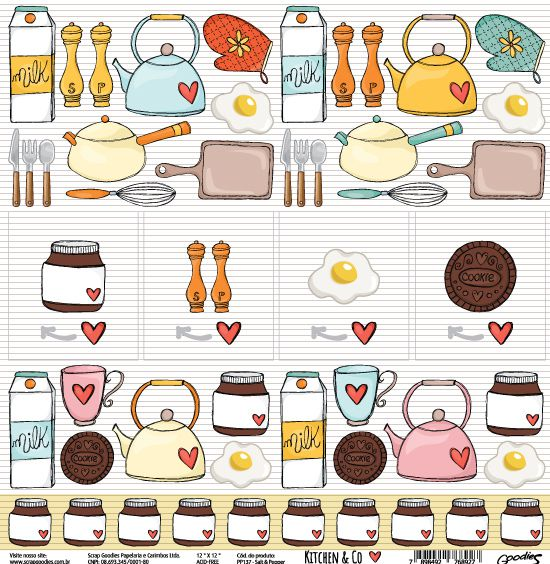 PP137 - Salt & Pepper  - SCRAP GOODIES