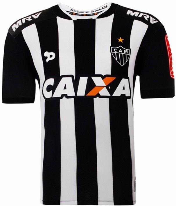 Camisa Oficial Galo Dryworld Atlético Mineiro I 2016